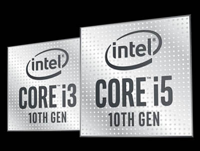Intel Core i3 i5 Comet Lake