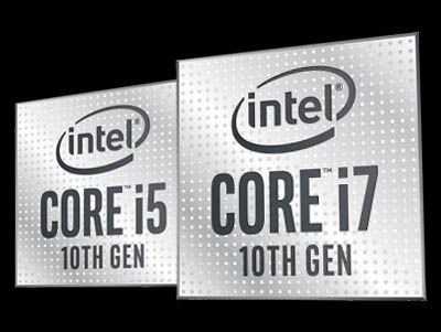 Intel Core i5 i7 Comet Lake