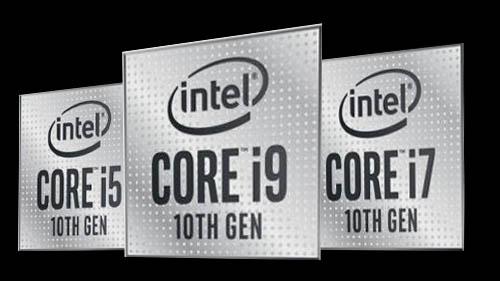 Processors Intel i5 i7 i9 Comet-Lake
